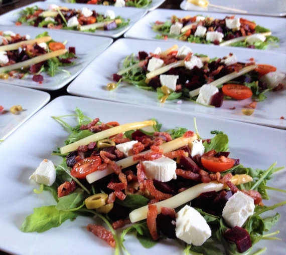 Table d'hotes - Aspergesalade - Les Neuf Cerisiers